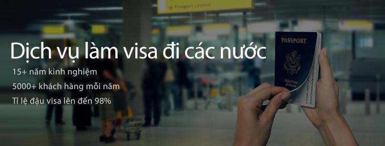 Dịch vụ làm visa các nước